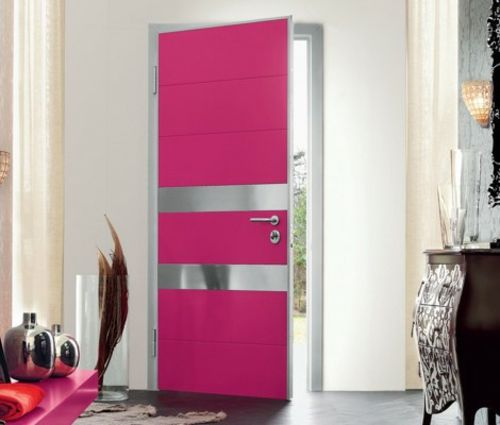 Haustã¼R Design | 12 Coole Ideen Fur Kreatives Rosa Haustur Design Dekoration Ideen