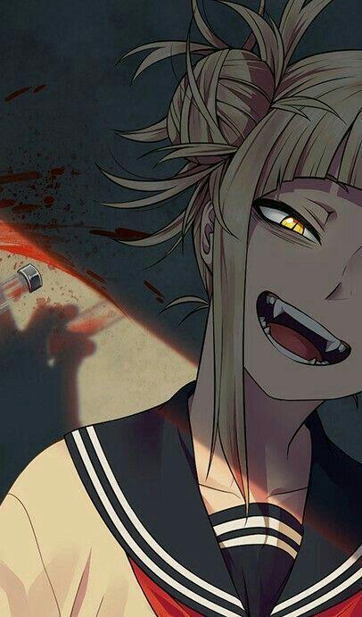 My Hero Academia Himiko Toga Myheroacademia Himikotoga Anime Yandere Anime Yandere Girl Dark Anime
