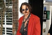 Johnny Depp in Red