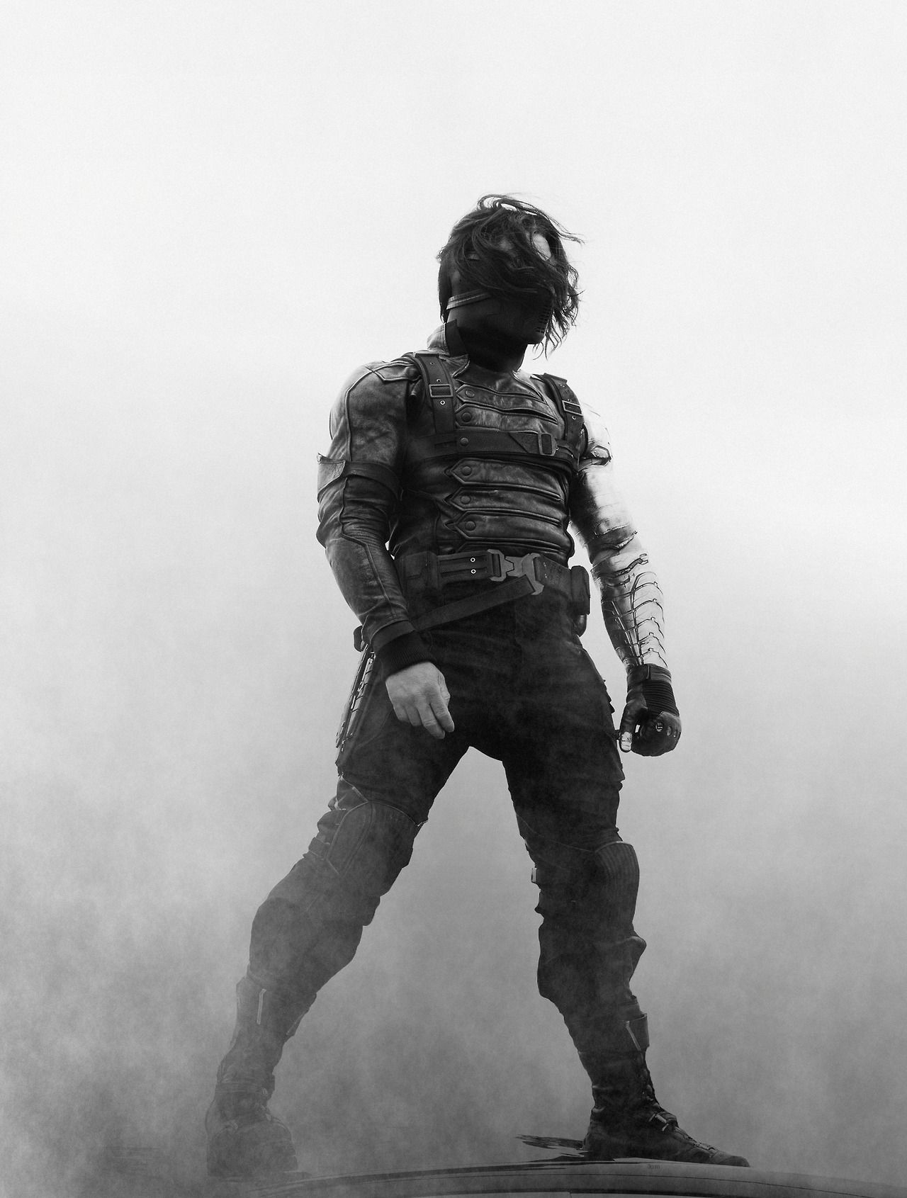 Original Still From Stitchkingdom Female Winter Soldier Short Hair Costume Bucky Barnes Fanfiction Bucky Winter Soldier