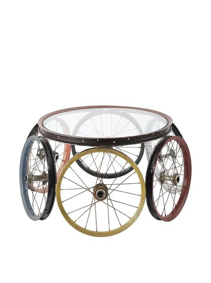 Phillips Collection 6 Wheel Bicycle Coffee Table, Multi, http://www.myhabit.com/redirect/ref=qd_sw_dp_pi_li?url=http%3A%2F%2Fwww.myhabit.com%2Fdp%2FB00T2SCXSS%3F