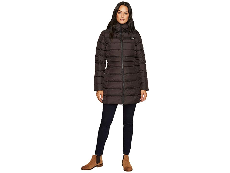 b1c2a2be4 The North Face Gotham Parka II (TNF Black) Women's Coat. A mid-thigh ...