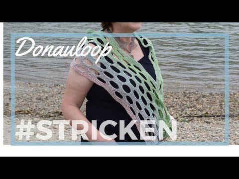 Donauloop stricken, Loop Anleitung - YouTube