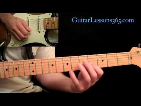 Thunderstruck Guitar Lesson Pt.1 - AC/DC - Intro - YouTube | Guitar ...