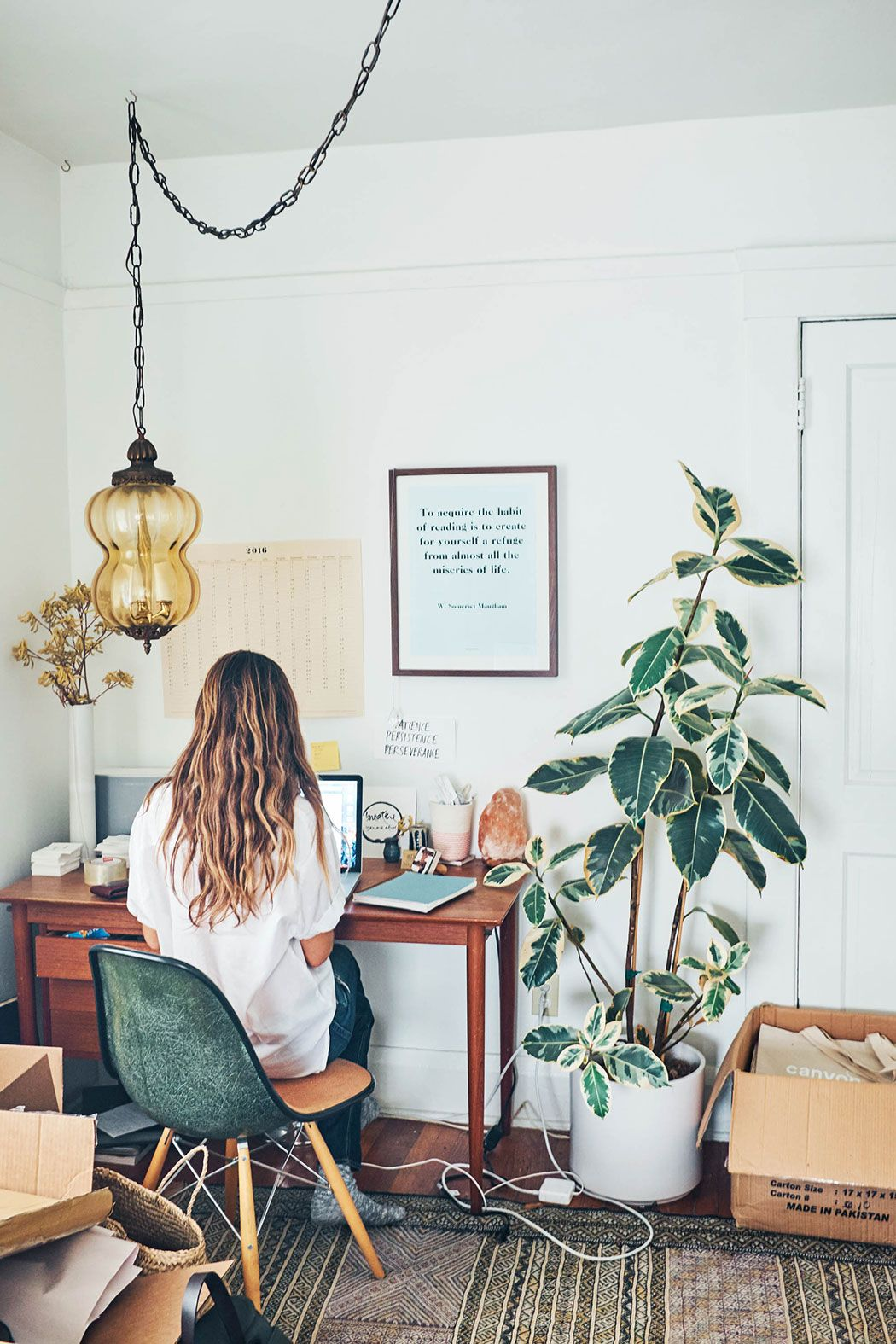 creative office decor. Interview X Ally Walsh - Ashley Neese. Creative Office Decor V