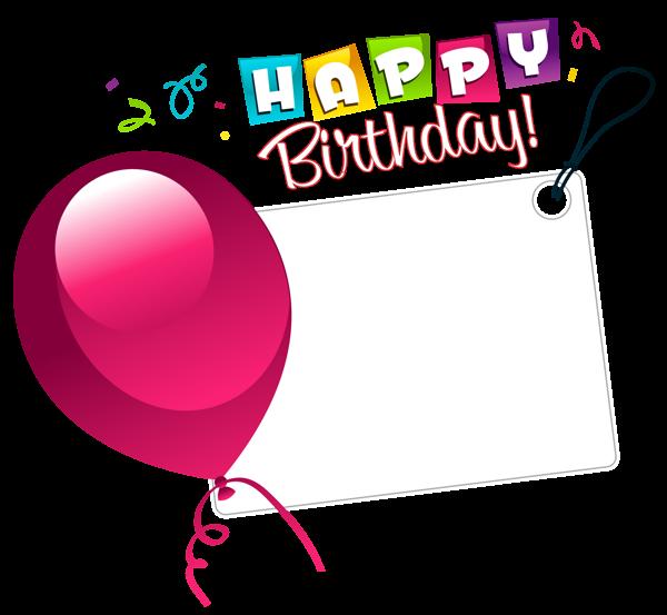 Gallery recent updates transparent stickersbirthday clipartpink balloonshappy