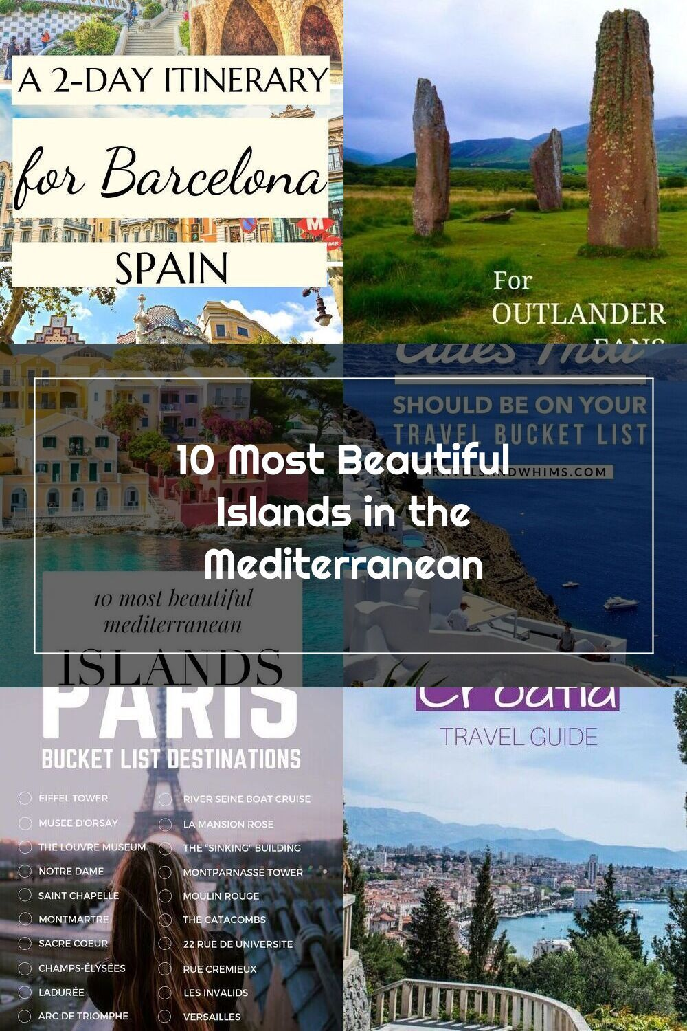 20 Most Beautiful Islands in the Mediterranean. There are 20 ...