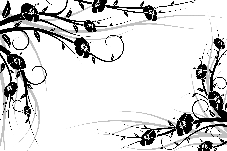 Flower Frame Backgrounds Pinterest Flower Frame