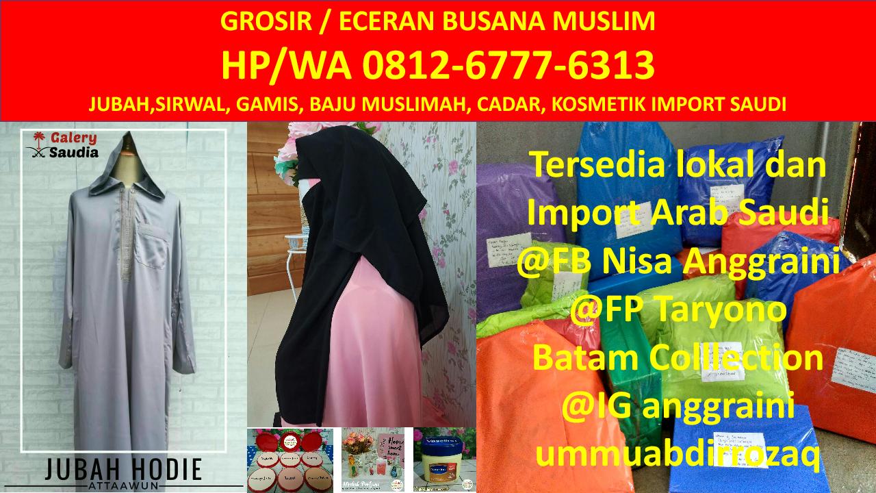 Hub 081267776313 (tsel), Jual Grosir Busana Muslim