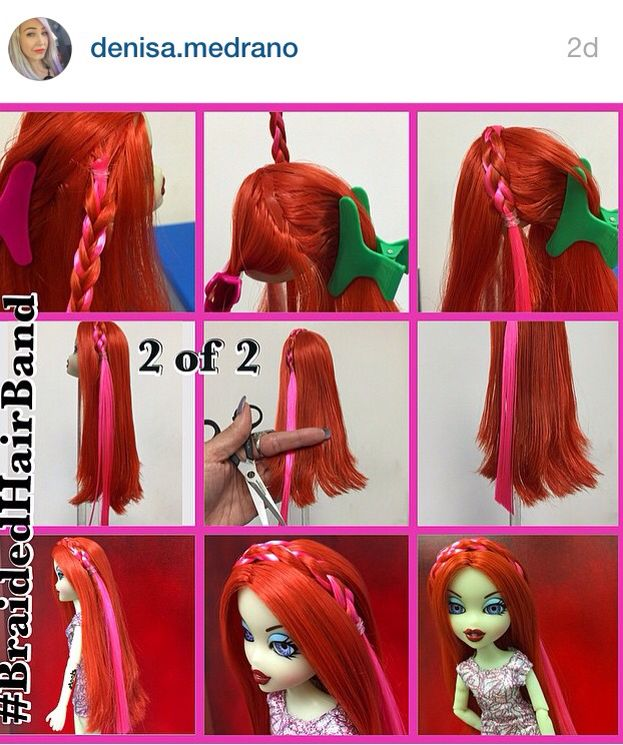 how to fix blythe doll hair