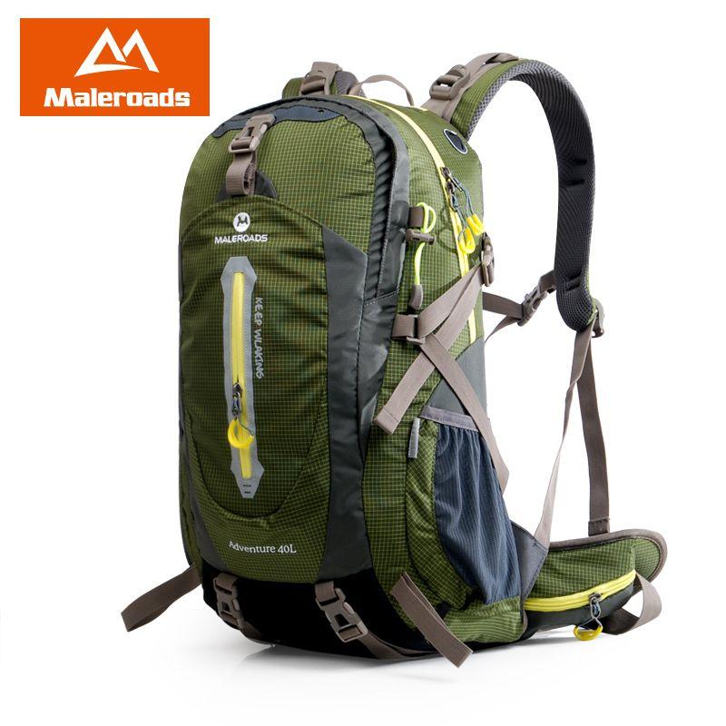 Maleroads Mountaineering Climb Backpack Travel Pack Trekking ...