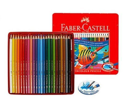 Faber Castell Albrecht Durer Watercolor Pencil Colors Faber