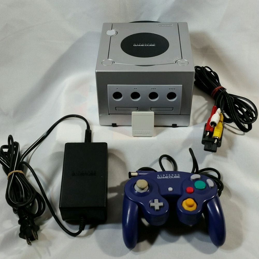 NINTENDO GAMECUBE Console System Complete with Memory Card Christmas ...