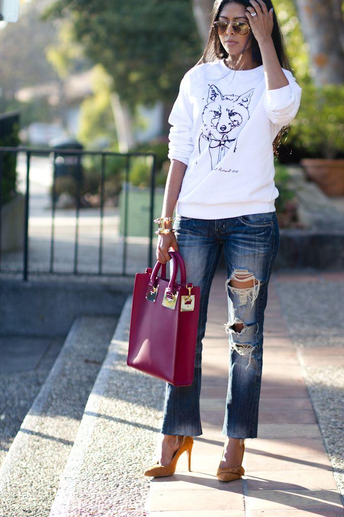2013 Shirt: Cass studded Flannel shirt c/o Citizens of Humanity / Shoes: Marlenee c/o Steve Madden