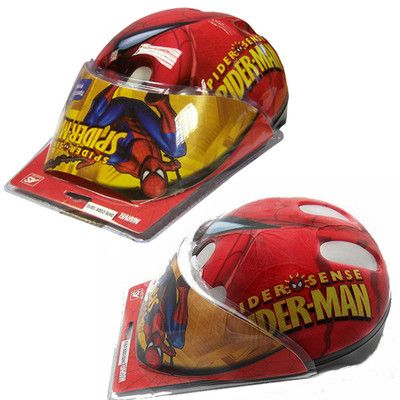 Safety should always come first for kids especially when riding a bike or playing on skateboards or roller blades.  This Spider-man helmet from marvel is a great way for your child or teenager to protect their head from falls and crashes while still looking cool enough for them to remember to put it on before riding.