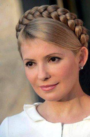 The Eu Ukraine And The Tymoshenko Show Trial Yulia Tymoshenko Braided Hairstyles Up Hairstyles
