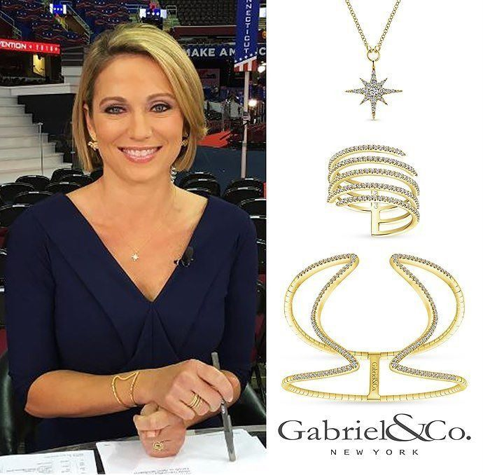 Amy Robach @ajrobach From @goodmorningamerica Spotted At
