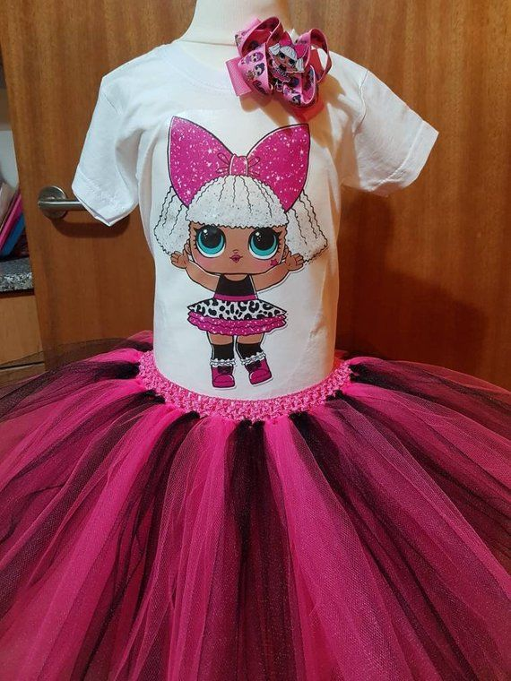 daaacd744 Tutu dress can be Personalised any doll can be added Tutu | Etsy ...