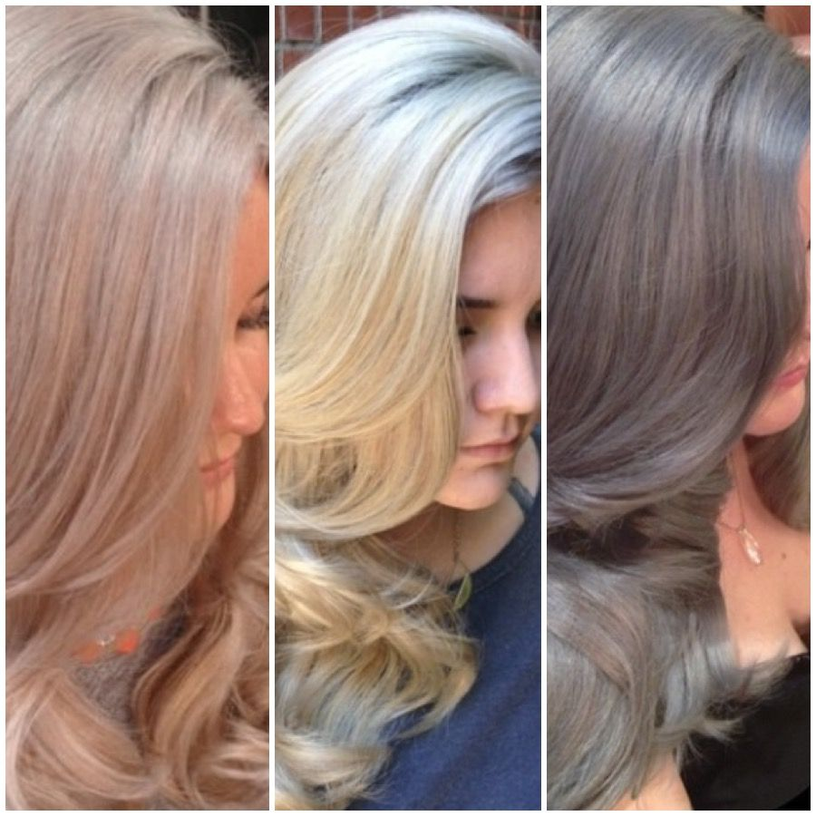 THE JOURNEY: Champagne to True Blonde to Silver - Hair Color ...