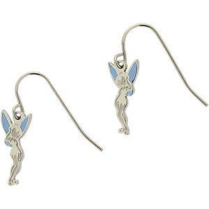 4750f5ffe18f65 Disney Stainless Steel Enamel Tinker Bell Dangle Earrings #Disney  #disneyfashion #DisneyJewelry #Disneylove #WMTMOMS @Walmart