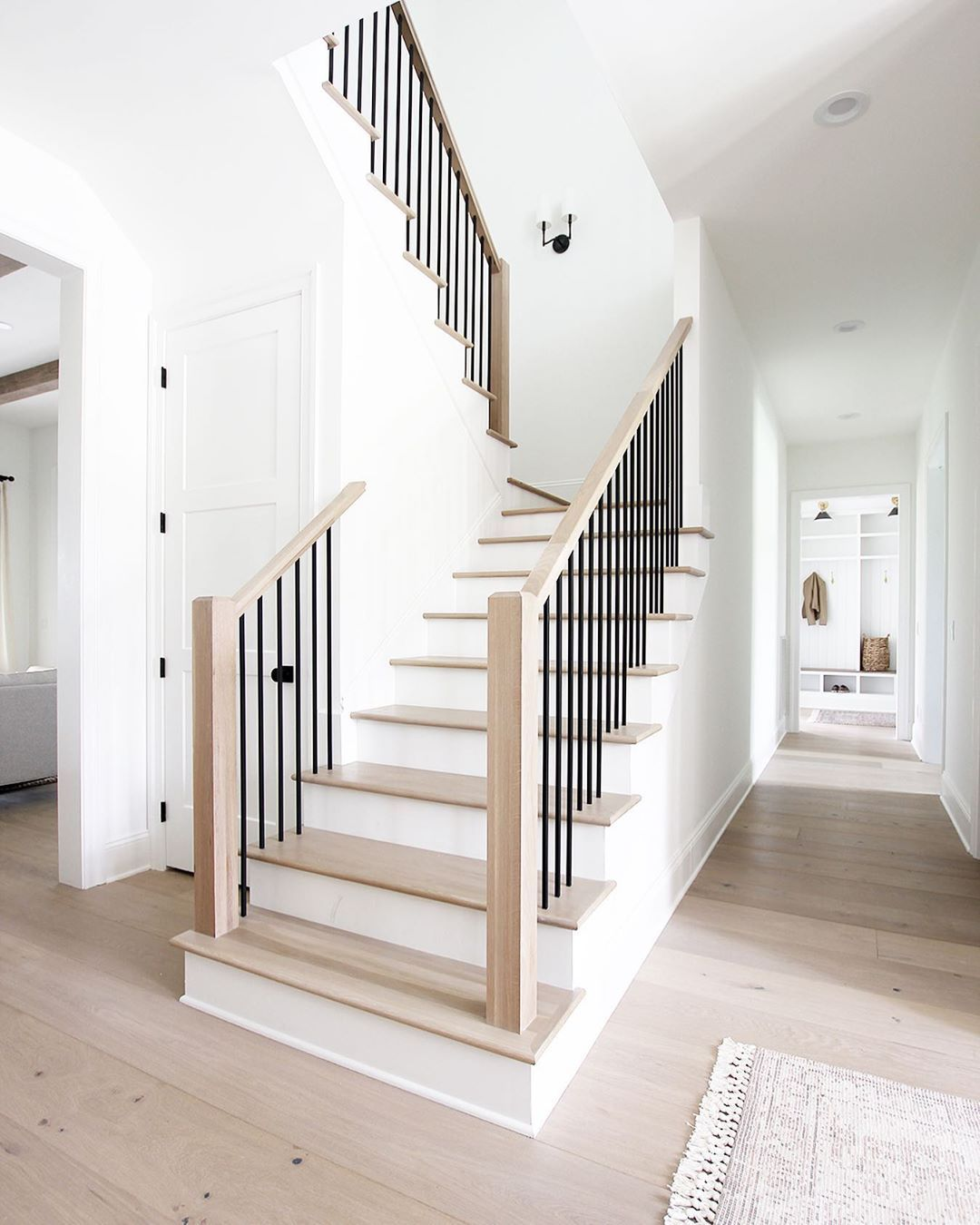 Brooke Henry On Instagram This Morning I Ve Been Talking All About Our Staircase This Was One Of Those Thing In 2020 House Staircase Staircase Design House Stairs