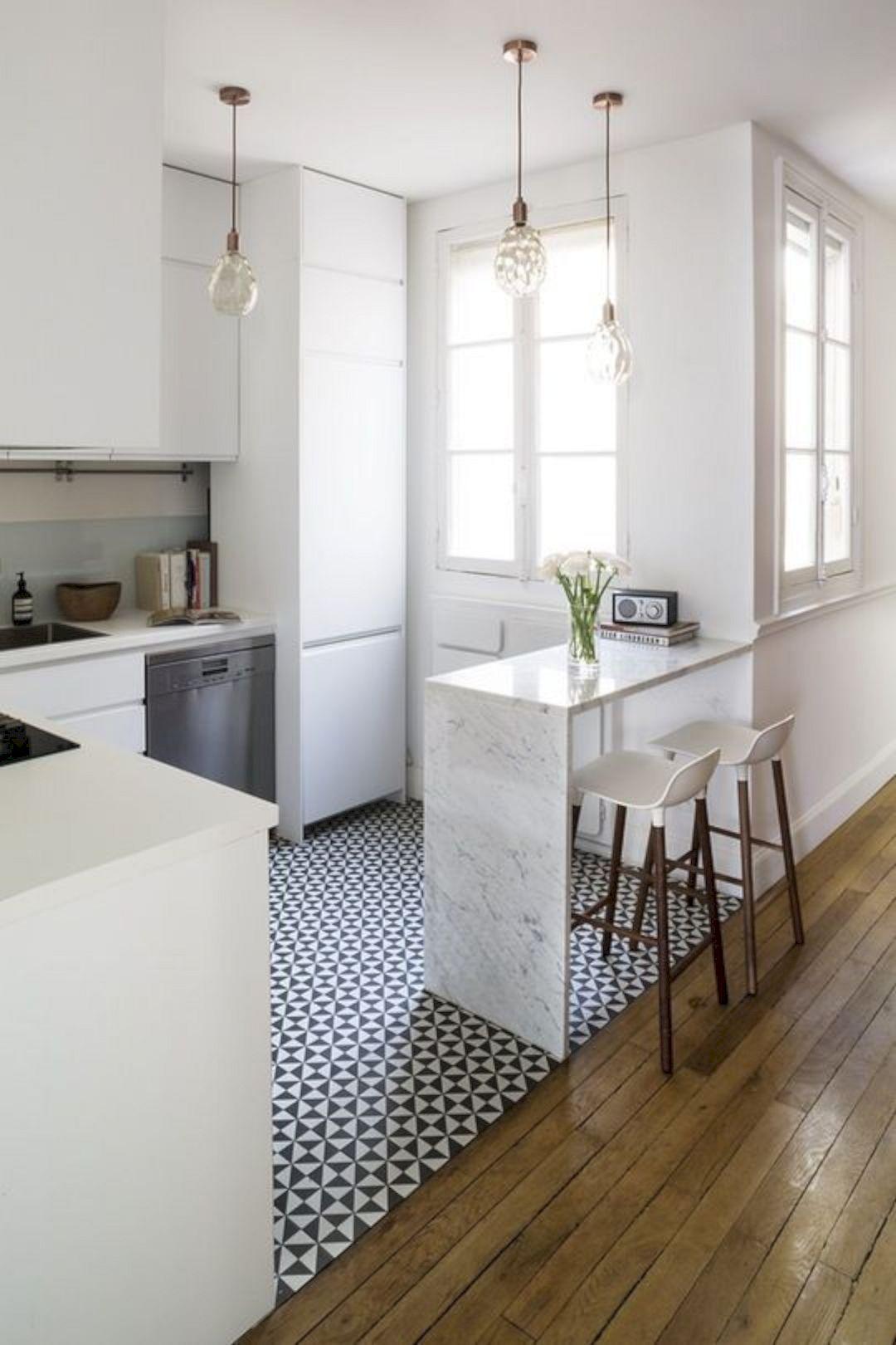 91 Brilliant Small Kitchen Remodel Ideas | Kitchens, Smart kitchen ...