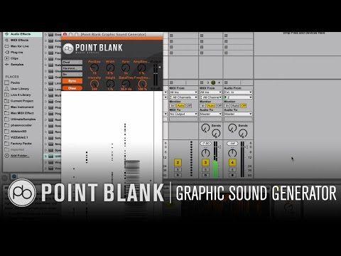 Ableton Max for Live Free Plugin: PB Graphic Sound Generator