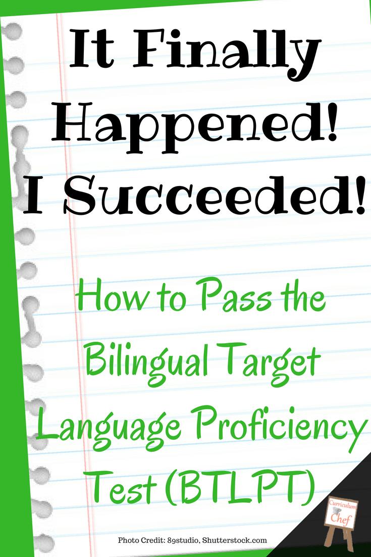 How To Pass The Btlpt Pinterest2 Language Proficiency Teacher