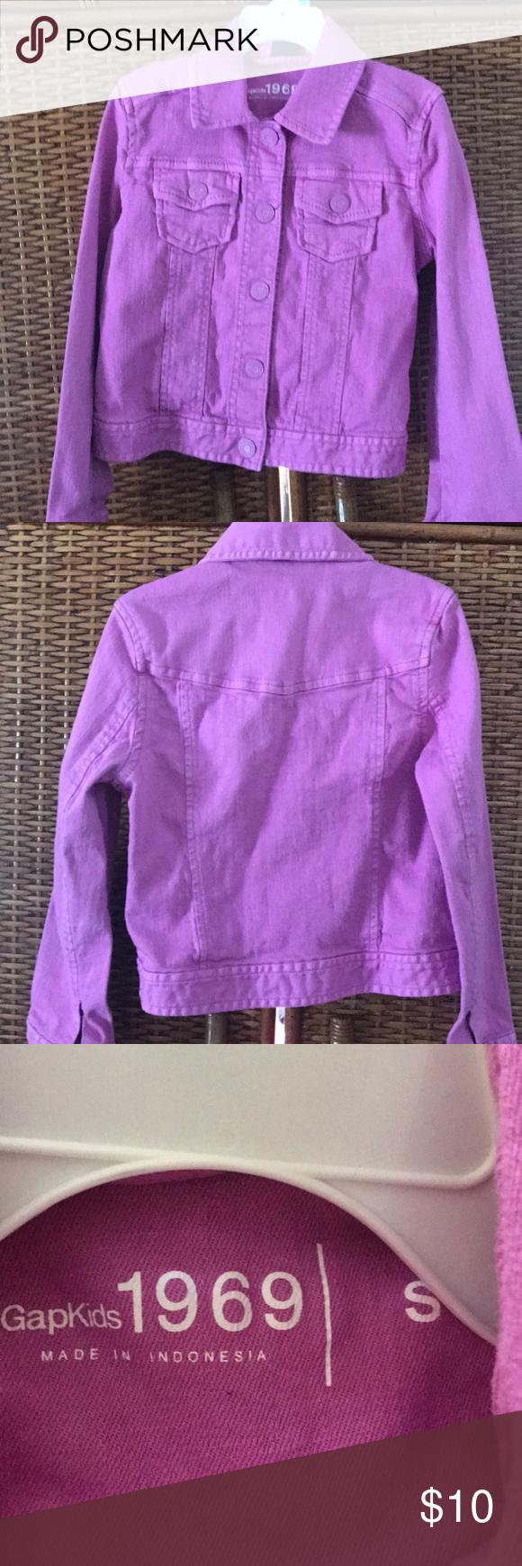 Gapkids Girls Lavender Jean Jacket Size Small Jean Jacket For Girls Lavender Jeans Jackets [ 1740 x 580 Pixel ]