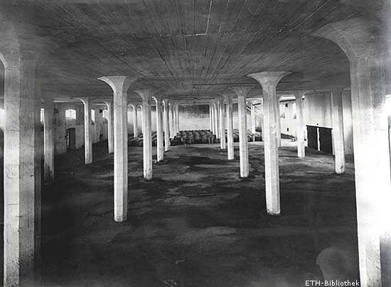 Kühl- und Lagerhaus in St. Petersburg, 1912