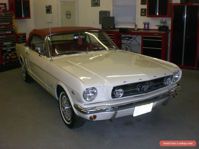 1965 Ford Mustang CONVERTIBLE #ford #mustang #forsale #unitedstates ...