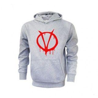 V for Vendetta fleece camisola do hoodie outdoor