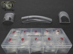 NT Clear Tips - Box med 500 st transparenta tippar