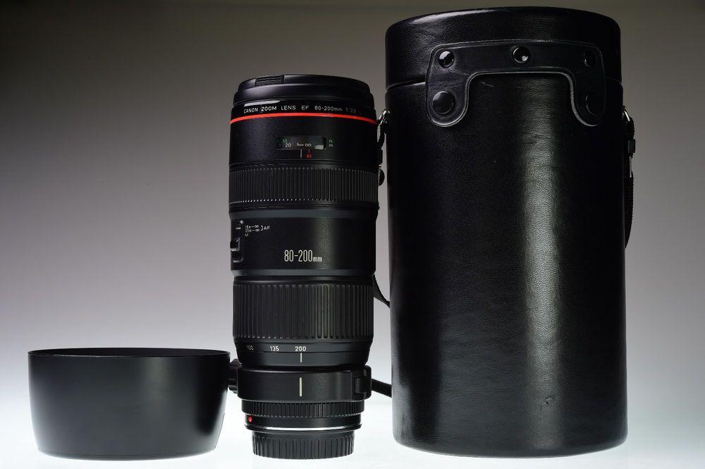 Canon Ef 80 200mm F 2 8l Excellent Canon Canon Ef Canon Lens