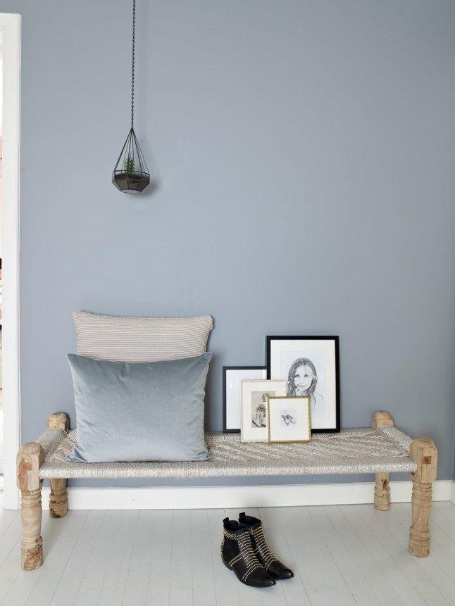 Un Appartement Norvegien En Gris Bleu Idees De Decoration
