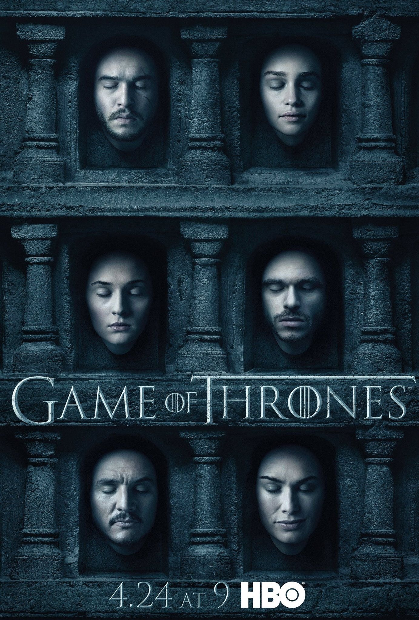 Game Of Thrones Character Posters Debut For Season 6 Pôster De Game Of Thrones Temporadas Game Of Thrones