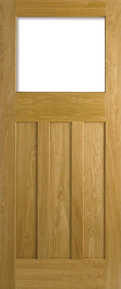 Dx 30u0027s Style Unglazed Door 78x30 Oak - internal doors - oak - Dx 30u0027s Style & Dx 30u0027s Style Unglazed Door 78x30 Oak - internal doors - oak - Dx ... pezcame.com