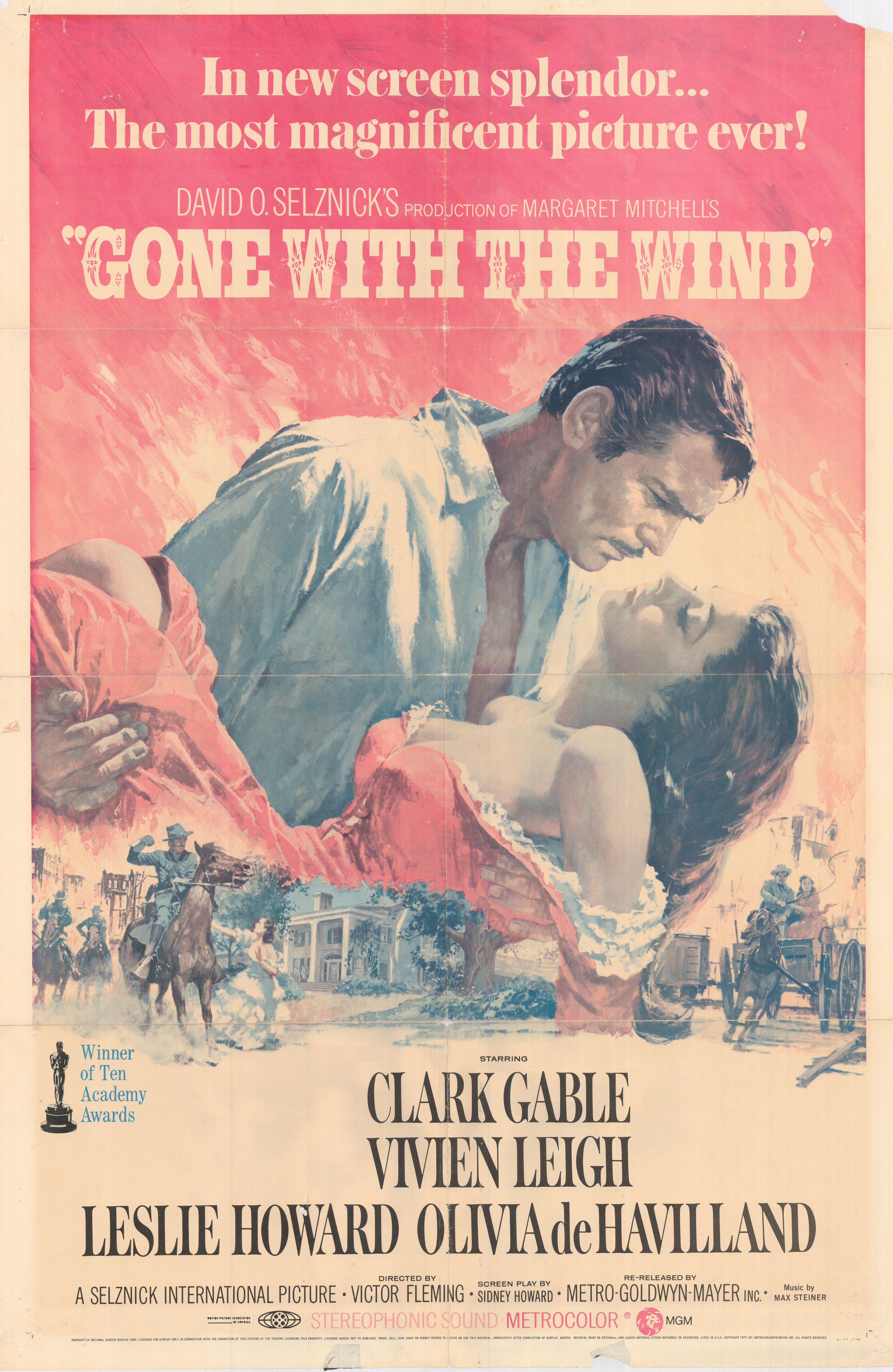 Gone With The Wind Original movie poster | Classic Posters ...