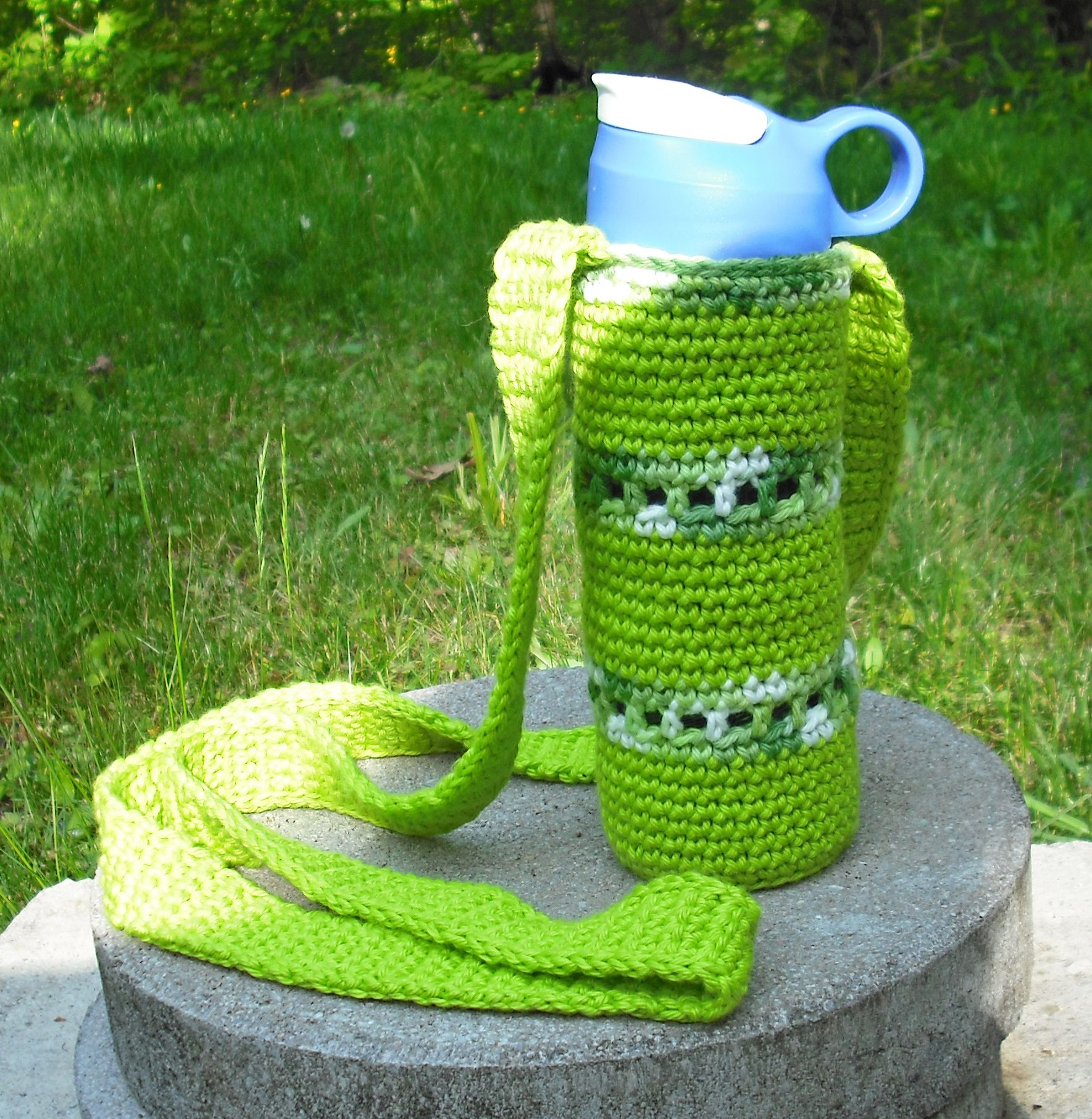 Water bottle holder with cross body strap my own pattern water bottle holder with cross body strap my own pattern bankloansurffo Choice Image