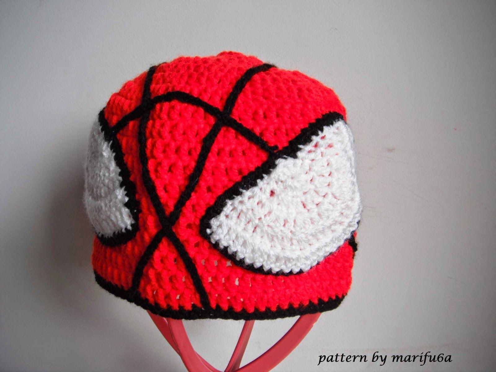 Crochet Spider Man Hat Topsimages