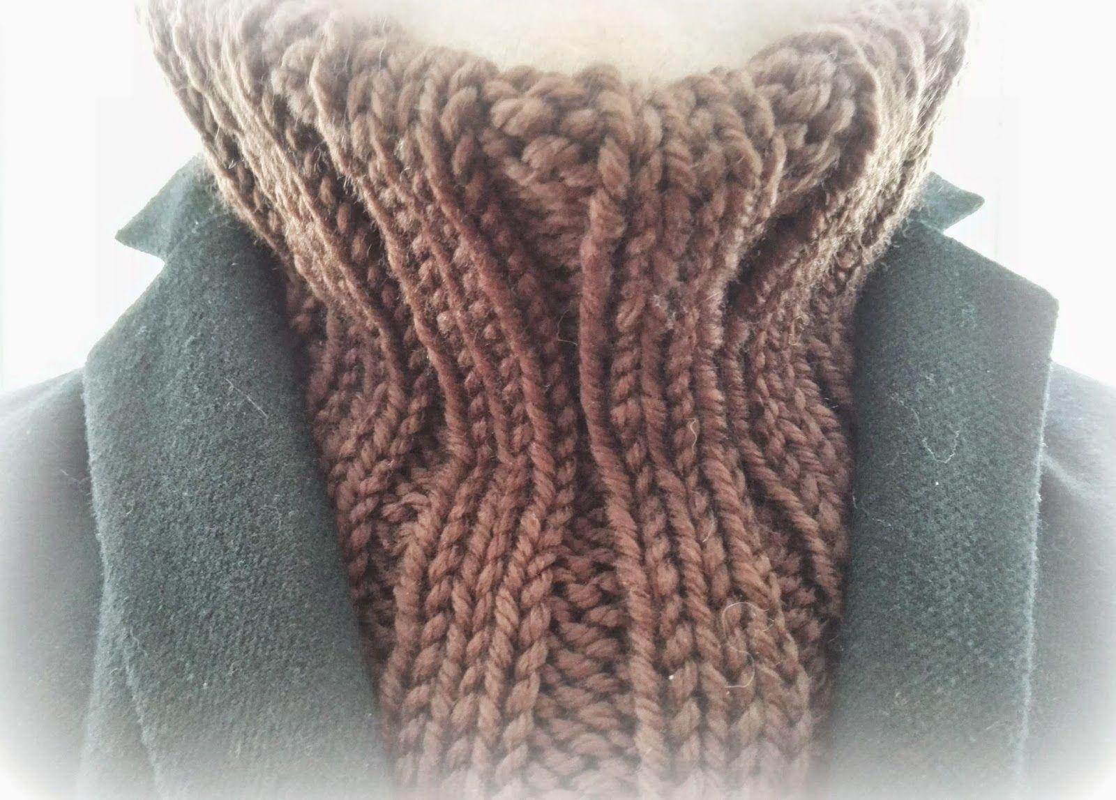 Tardes con Alma: Tutorial bufanda, cuello circular o braga modelo Origo