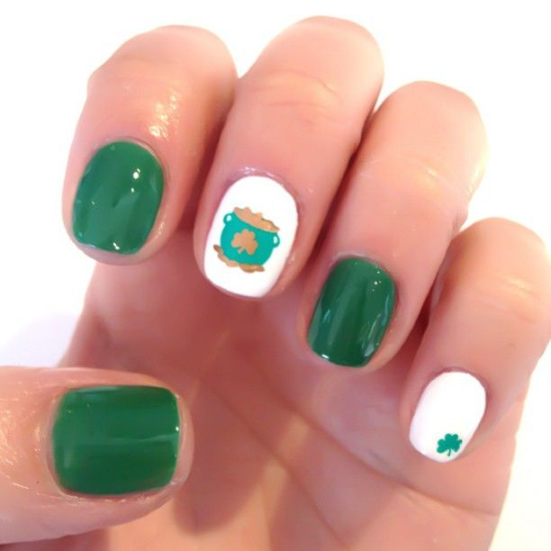 dippednails is getting festive! Show us your best St. Patrick\'s Day ...