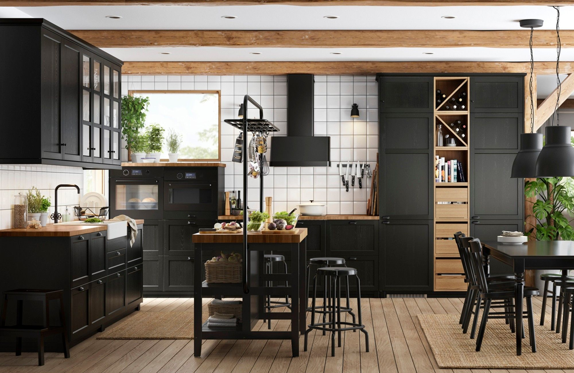 Best Ikea Lerhyttan Black Ikea Kitchen Kitchen Design Small 400 x 300