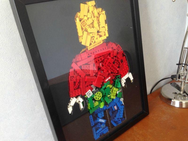 Cadre LEGO   L'atelier d'Emilie | Lego World | Pinterest | DIY