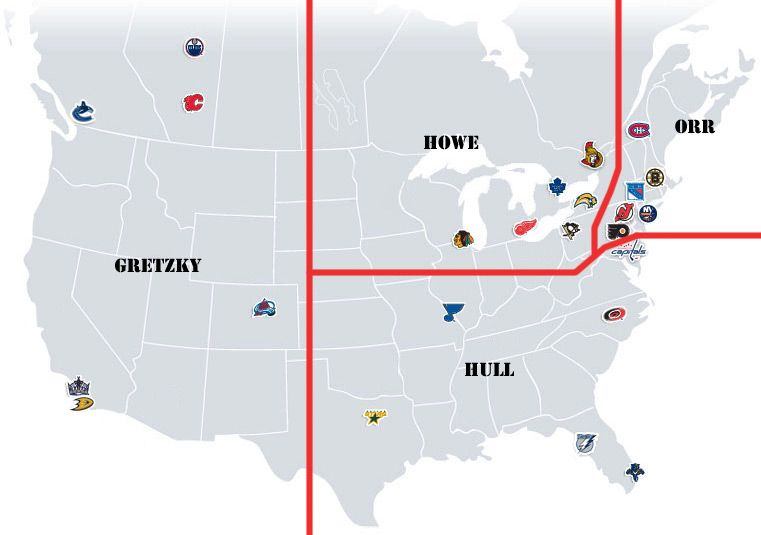 Pin On Nhl Realignment Project