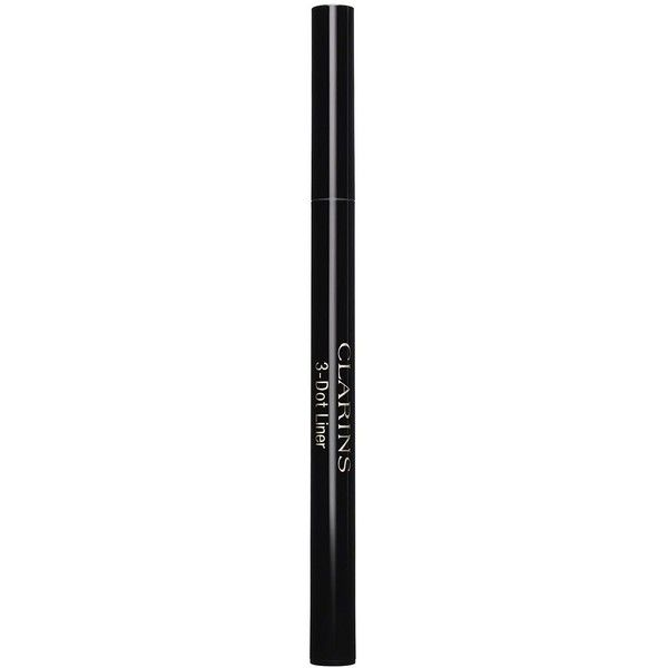 Clarins 3-Dot Liner ($26) ❤ liked on Polyvore featuring beauty products, makeup, eye makeup, eyeliner, apparel & accessories, clarins, pen eyeliner and clarins eyeliner