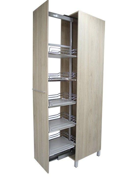 Torre Alacena Extraible Soft Closing 5 Cestos 400x500x