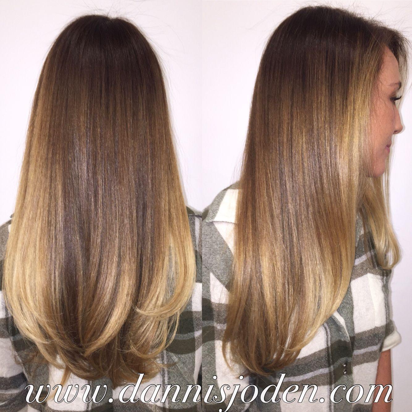 Gisele Bundchen Victorias Secret Inspired Balayage Ombr Hair By