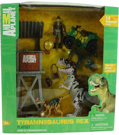 Animal Planet Tyrannosaurs Rex Play Set | Animals ... on animal safari wildlife, fisher-price farm animal set, farm animal safari set, animal planet wildlife tree house bridge, animal planet wildlife family, lego wildlife set, ocean sea animal set, animal planet wildlife game, jurassic park toy set, animal toys,