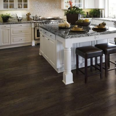 Allure ISOCORE XL 87 In X 594 In Arezzo Dark Resilient Vinyl Plank Flooring Home Decor